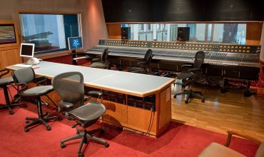 Ocean Way Nashville Ocean Way Nashville's famous Studio A.